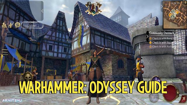 Warhammer odyssey guide