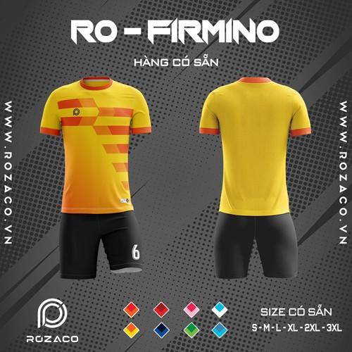 Áo Không Logo Rozaco RO-FIMINO Màu Vàng