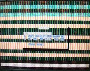 Este defecto es síntoma de display LCD dañado