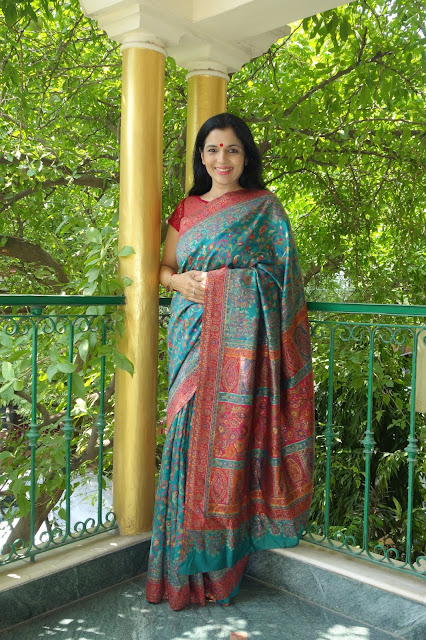 kashmiri saree from sohum sutras