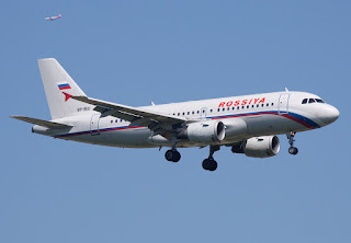 Airbus A319 of Rossiya Airlines
