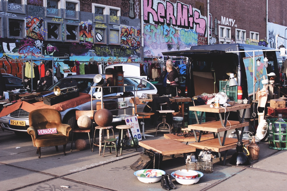 How to Spend 24 Hours in Amsterdam IJ Hallen Flea Market