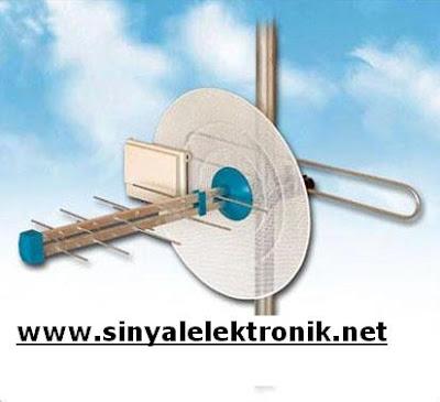 yükselticili karasal anten