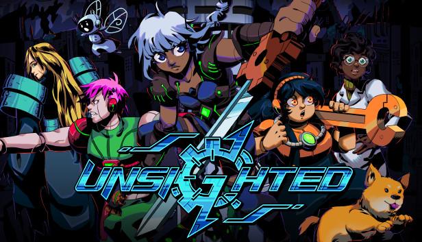UNSIGHTED, RPG de ação brasileiro, chegará ao Switch em 30 de setembro