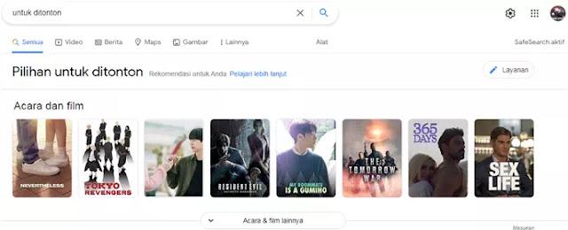Cara Membuat Daftar Tontonan Film Sendiri Menggunakan Google Penelusuran-4