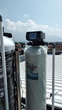 pemasangan filter air Dr.Toya tipe otomatis dan filter uv di Garut