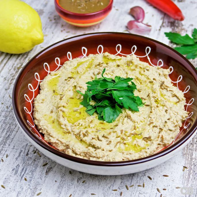Recept Zelfgemaakte hummus: gezond en erg lekker!