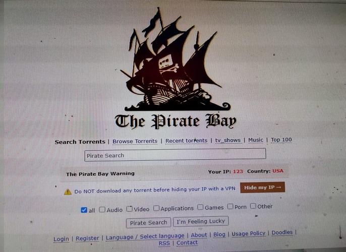 The Pirate Bay Proxy Latest List- 2021
