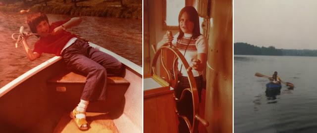Faszination Wasser und Boot - Urlaub als Kind