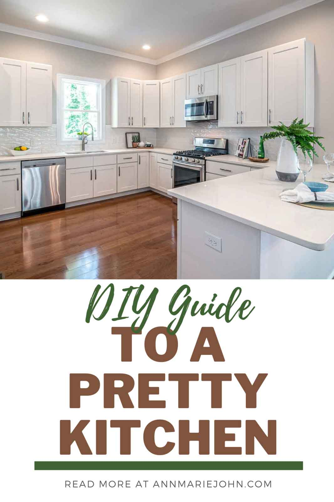 Your DIY Guide To A Pretty Kitchen