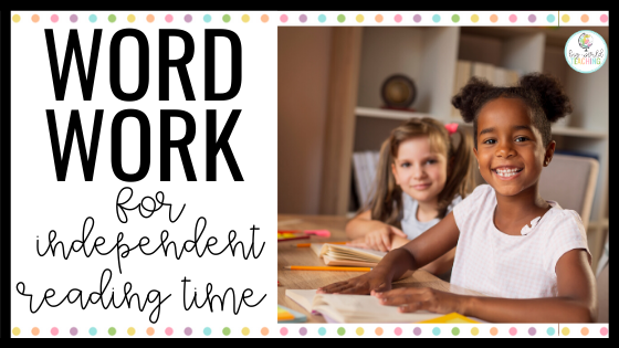 Are you looking for ways to extend your students during independent reading time? The answer - Words in Books! Differentiated word work sheets for any book!