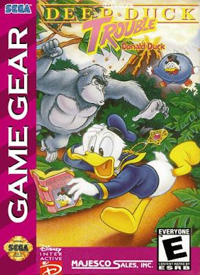 Jogo online Deep Duck Trouble Game Gear