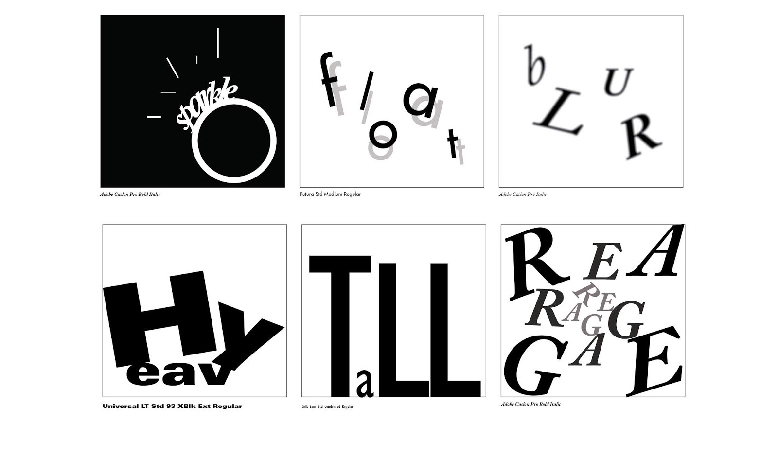 TYPOGRAPHY- FINAL COMPILATION & REFLECTION