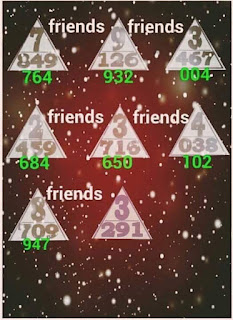 Thailand lotto VIP Friends Non Miss Sure Touch 01-11-2016