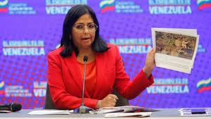 Rodríguez manifestó que es una provocación y representa una amenaza la presencia de Buques en  Venezuela
