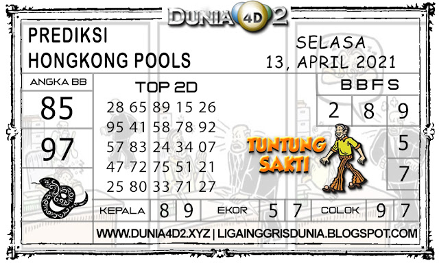 Prediksi Togel HONGKONG DUNIA4D2 13 APRIL 2021