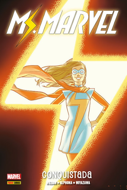 Comic: Review de Ms. Marvel Vol.2: Conquistada - Panini Comics