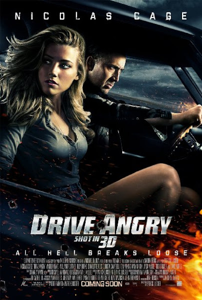 Poster Of Drive Angry 2011 UnRated 720p BluRay Dual Audio