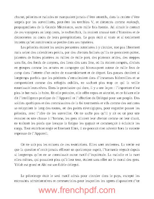 Roman: 2084 La fin du monde pdf de Boualem Sansal