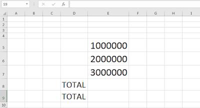 Simbol mata uang di Excel