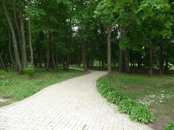 Батурин. Парк Кочубея