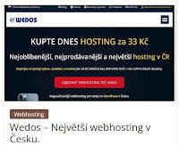 Wedos – Největší webhosting v Česku. - AzaŽurnál