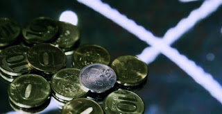 ruble coins