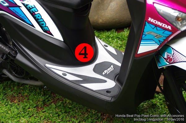 Asesoris Honda Beat POP eSP Comic dan Pixel