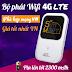 Khuyến mãi thiết bị phát Wifi 3G/4G giá cực tốt trong tháng 10/2020