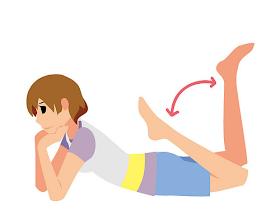 「趴著踢屁股」竟能讓身體軸心回正,腰腿臀一起變瘦