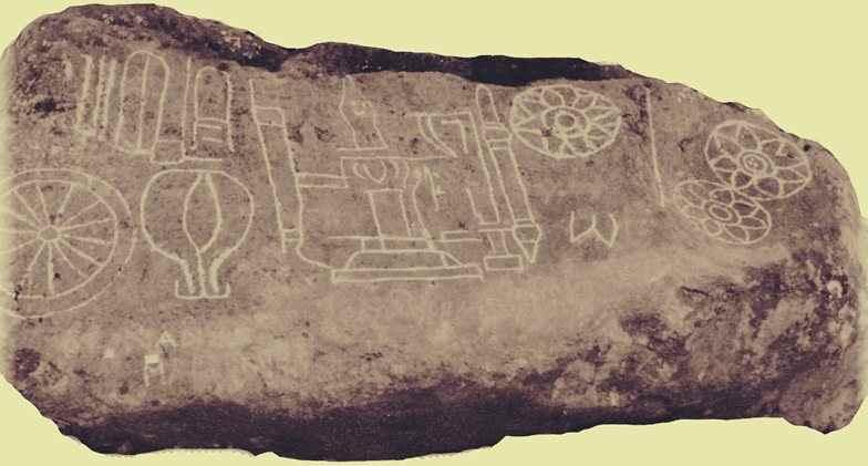 Foto Prasasti Tukmas - bukti keberadaan Kerajaan Kalingga