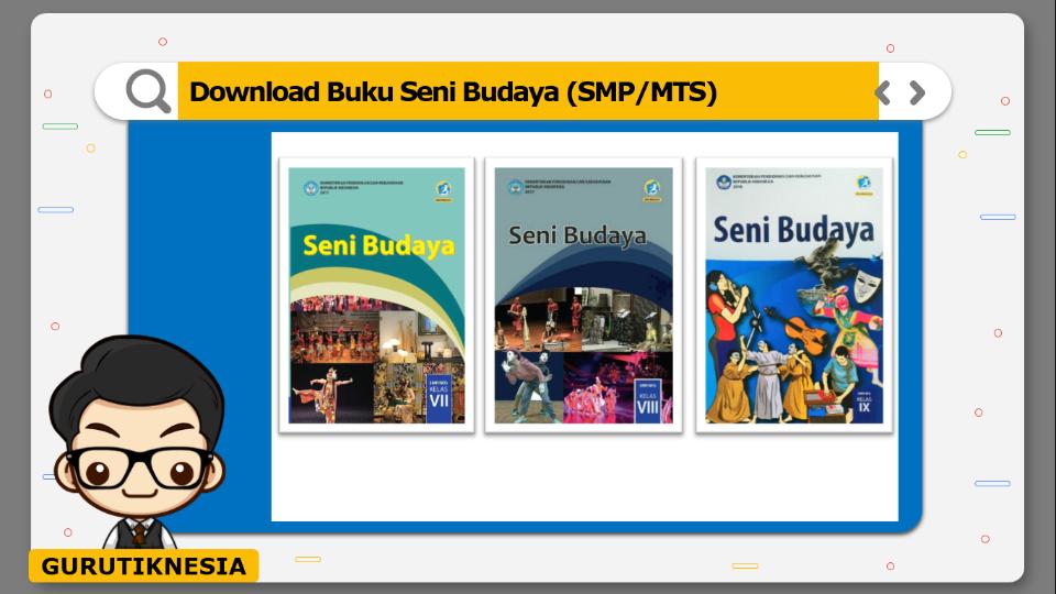 download gratis buku pdf seni budaya untuk smp/mts