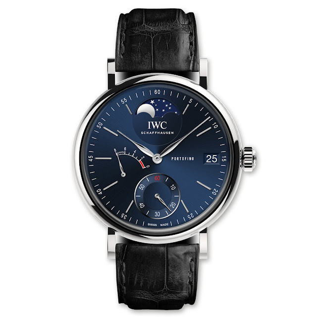 IWC Portofino 8 Days Moon Phase, unique piece for Laureus Charity