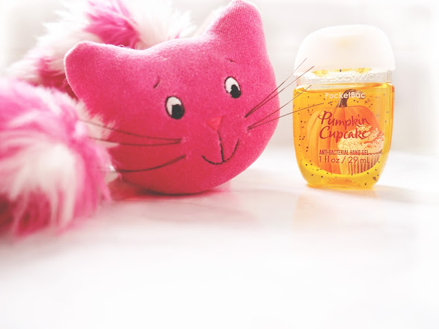 September Beauty Favourites Pink Cat Kawaii Bath Body Works Pumpkin Cupcake Pocket Bac