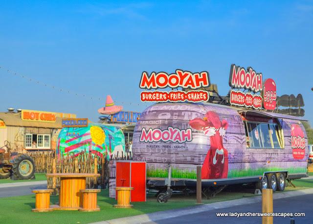 Mooyah food truck Last Exit Dubai