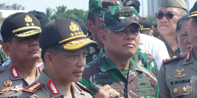 Jokowi Instruksikan Kapolri Tangkap Pembuat Isu Pergantian Panglima TNI