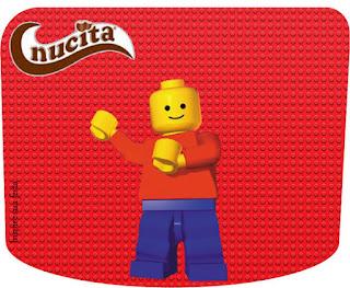Etiqueta Nucita para Imprimir Gratis de Fiesta de Fiesta de Lego.