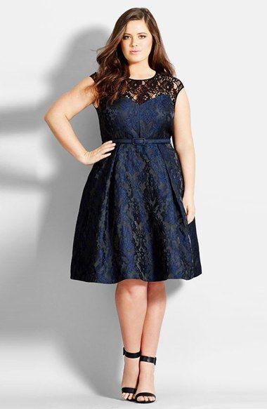 Model Gaun Pesta Wanita Gemuk Terbaru
