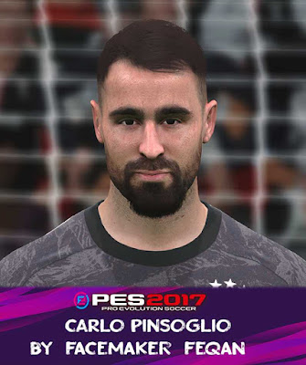 Carlo Pinsoglio Face Pes 2017 by Feqan