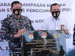 KPK Serahkan Aset Rampasan Senilai Rp 55 Milliar Kepada TNI AL