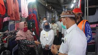 Tangkal Covid-19, Pemkot Mojokerto Pasang Tandon Air Dipasang di Pasar Tradisional