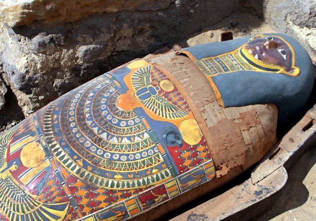 Egypt to restore hundreds of pharaonic era coffins