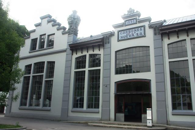 Vista parcial de la Casa de Máquinas