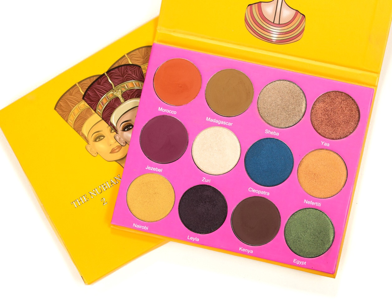 Juvia's Place The Nubian 2 Avis et Swatch