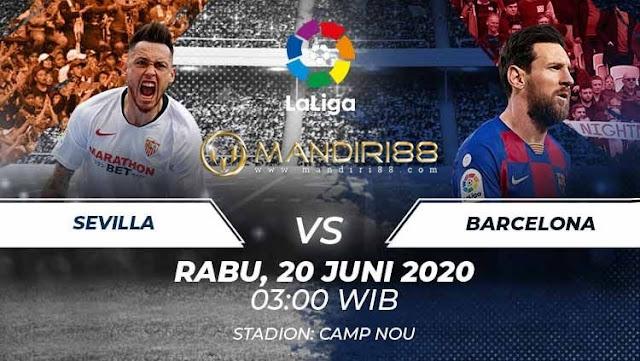 Prediksi Sevilla Vs Barcelona, Sabtu 20 Juni 2020 Pukul 03.00 WIB