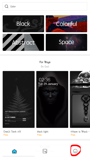 Cara Customize Themes MIUI 10