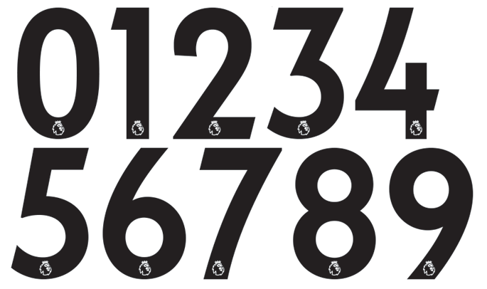 all new 2017 18 premier league kit numbers font revealed footy headlines