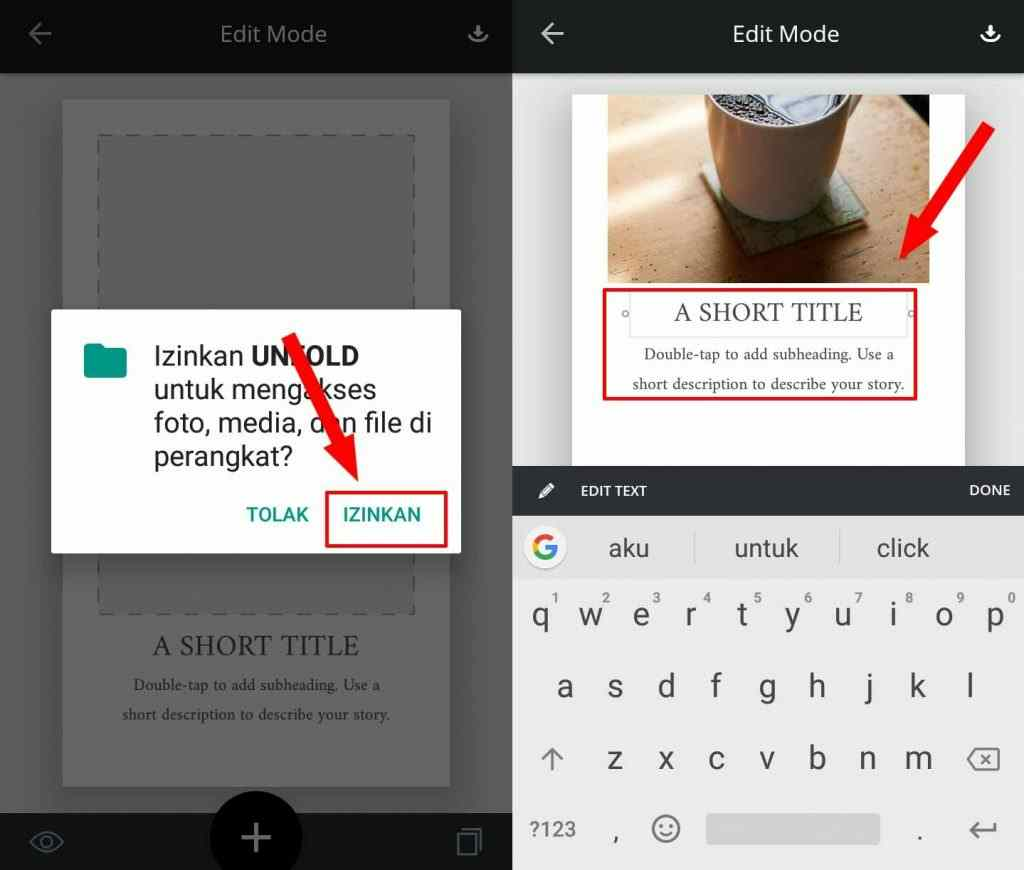 Cara Mudah Membuat InstaStory Minimalis Untuk Whatsapp dan Instagram 4