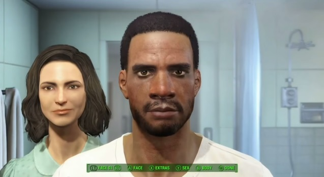 fallout 4 black character creation