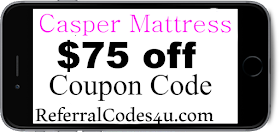 $50 off Casper Discount Code Coupon 2019 January, February, March, April, May